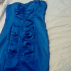 Blue Prom / Evening dress by Cache Size 6!